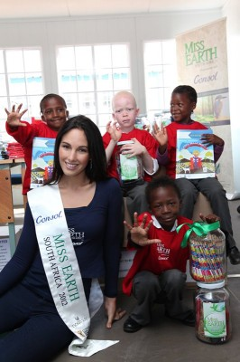Miss Earth SA touches over 7,000 lives