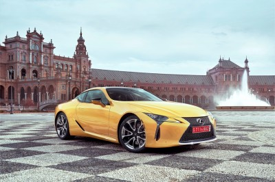 Lexus LC a Dynamic Luxury Coupe