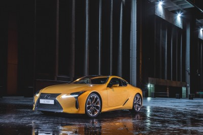 Introducing ALL-NEW LC 500 COUPE