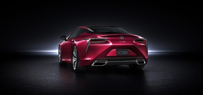 LEXUS LC 500 WINS TWO AWARDS