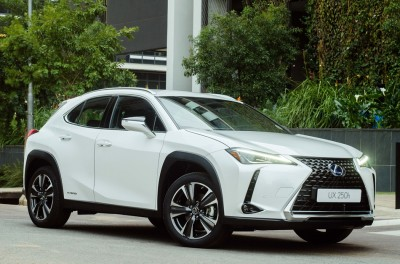 AND THEN THERE WERE TWO: LEXUS UX LUXURY COMPACT CROSSOVER EXPANDS HYBRID LINE-UP