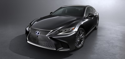 World Premier Of The All New Lexus LS500h