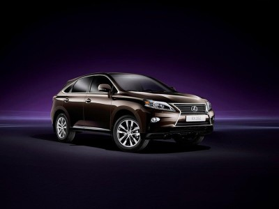 No Mistaking The 2012 Lexus RX